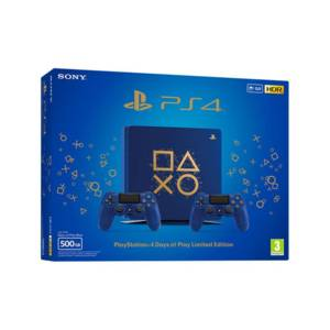 Конзола Sony PS4 500GB D CHASSIS BLACK + DS4 v2